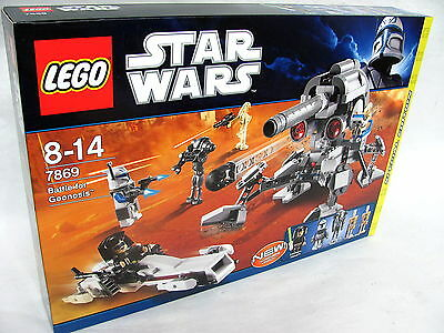 LEGO® 7869 STAR WARS Battle for Geonosis NEU & OVP´2011 /5 Figuren mit Cap. Rex