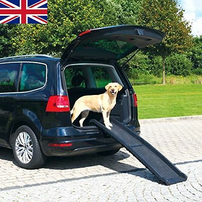 Dog pet ramp for cars weighs 11lbs supports 200lbs