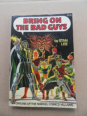 Bring on the Bad Guys - Paperback /Softcover- Simon & Schuster -1976 -FN - minus