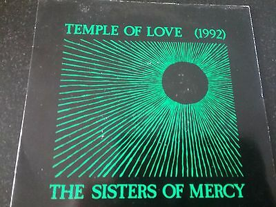"""The Sisters Of Mercy - Temple Of Love (1992) - 7"""" Vinyl"""