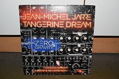 "JEAN MICHEL JARRE & TANGERINE DREAM Zero Gravity 12"" Record (Rare/Mint Vinyl)"