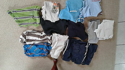 lot of 14 boys clothes size 4t, 5t, and4/5