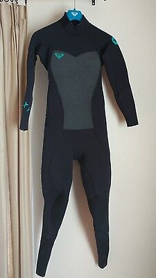 Roxy SYNCRO 4/3mm Back Zip Wetsuit Women's Size 8T