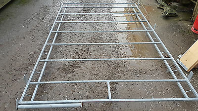 Iveco Daily roof rack galvanised and ladder