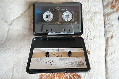 TDK SA90 LImited Edition,chrome type II audio cassette tape,excellent condition