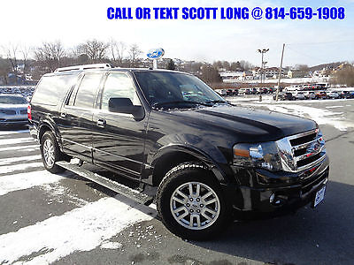 2012 Ford Expedition 2012 Ford Expedition EL Limited 4x4 Moonroof 4WD 2012 Ford Expedition EL Limited 4x4 Heated/Cooled Seated Moonroof Third Row Seat