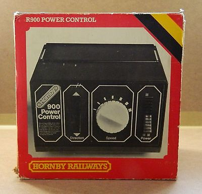 1990's VINTAGE HORNBY R900 POWER CONTROL BOX