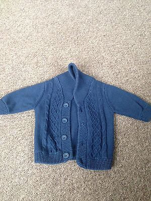 Boys Next Navy Cardigan Up To 3 Months