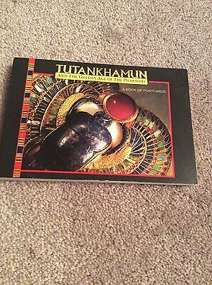 Tutankhamun And The Golden Age Of Pharaohs- Book Of Postcards
