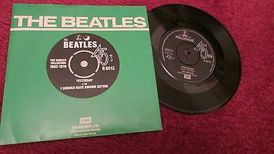 "THE BEATLES 7"" single YESTERDAY 1965  EMI PARLOPHONE R.6013"