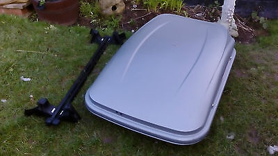 Mont Blanc roof box and Thule roof bars