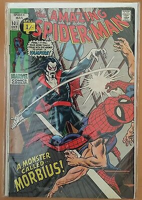 The Amazing Spider-Man #101 ⭐️ VG- ⭐️ 1st First Morbius
