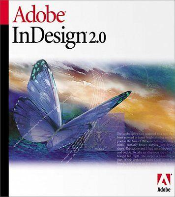 Adobe Indesign 2.0 full version Software for Windows Genuine (In Design) 2