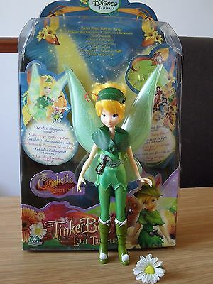Disney Fairies Tinkerbell And The Lost Treasure Light Up Fairy Doll