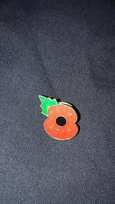 poppy appeal RBL pin badge