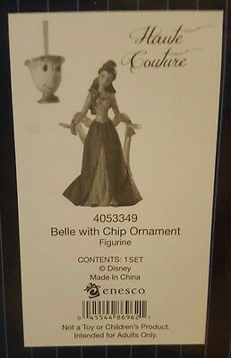 (NEW for 2016) - Christmas Belle with FREE Chip hanging ornament Disney Showcase