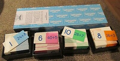 Taskmaster Division Dominoes - Maths Learning Resource Educational