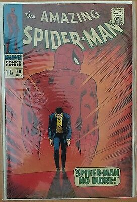 The Amazing Spider-Man #50 ⭐️ 1st First Kingpin ⭐️ VG+