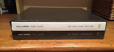 McLaren The Cars/McLaren The Wins, Collectors Edition Books By Taylor/Tremayne