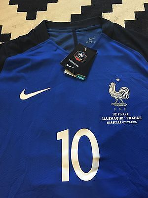 maillot France Gignac Demi Finale Euro 2016 Taille L Player Version Om