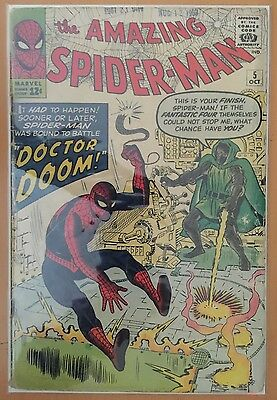 The Amazing Spider-Man #5 ⭐️ Doctor Doom ⭐️ FR+