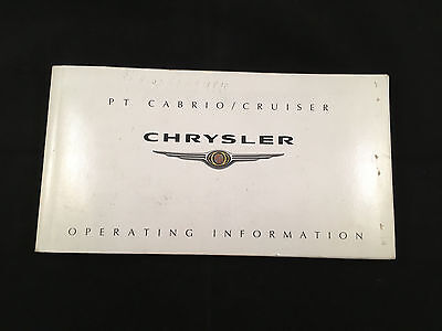 Chrysler PT Cruiser Owners Manual with Service
