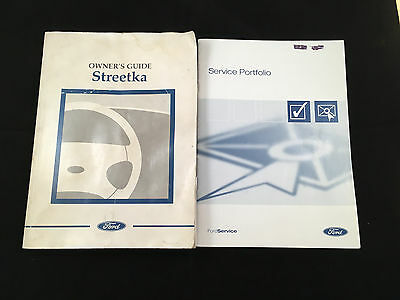 Ford StreetKa Owners Manual and Service Book
