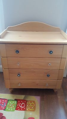 John lewis changing table/chest of drawers