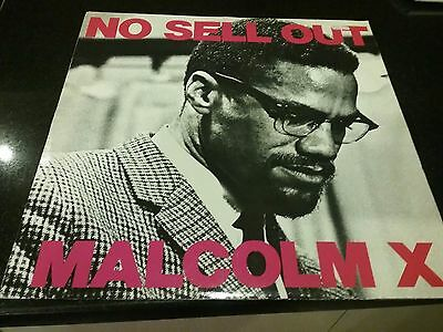 "Malcolm X No Sell Out 12"" Single Vinyl"