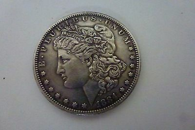 1884 United States of America Silver  Dollar