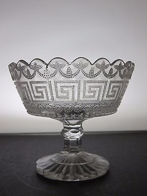 Vintage Small Glass Bowl With Stand
