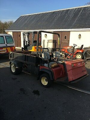 Toro Workman 3200 Utility Vehicle tipper with rear hydraulics