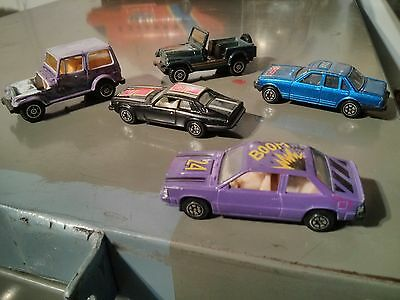Lot Of Vintage Made In China Car Lot 1/64 Scale
