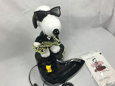 Peanuts Snoopy & Woodstock Animated Telephone 50th Anniversary - AS IS