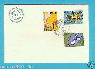 Ireland FDC Year of the Child 13/09/1979 3 values 10p 11p and 17p VGC C13