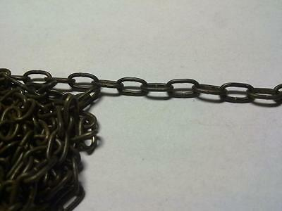 O Gauge exact to 7mm scale wagon/loco COUPLING 48 chain links ( 1 FOOT ~ 30cm )