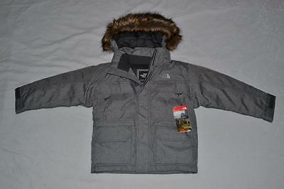 THE NORTH FACE BOYS McMURDO DOWN PARKA GREY SIZE XS XSMALL (6) BRAND NEW