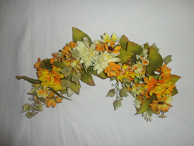 Home Interiors  28'' Mixed Yellow Flowers '' Swag/ Accents