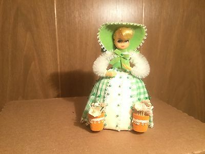 """Vintage  Li'l Missy Beaded Sequin Doll-1970's  """"Mary, Mary Quite Contrary """" Doll"""