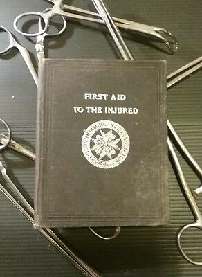 First Aid To The Injured 1898 St Johns Ambulance Association