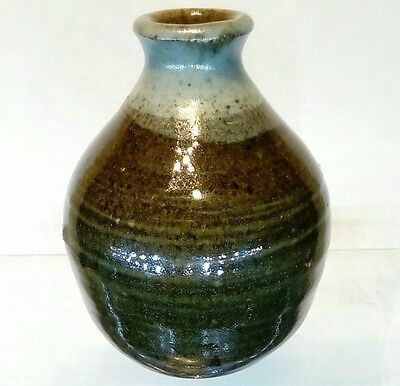 Nice Vintage Studio Pottery Vase in Leach Tradition.