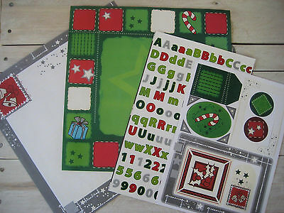 Christmas Themed Scrapbooking Pack