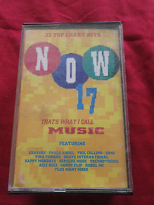 Now Thats What I Call Music 17 - 1990 Double Audio Cassette Album