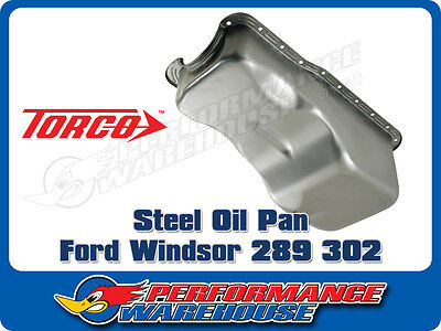 Ford Windsor 289 302 Steel Oil Pan Sump Replacement Style