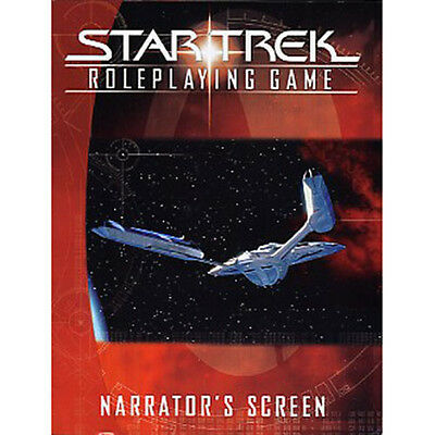 STAR TREK RPG - Narrator's Screen (Roleplaying Game) by Decipher #NEW