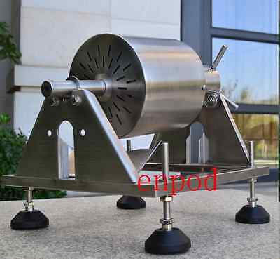 HOT Manual Stainless Steel Coffee Beans Roaster Machine HOME Kitchen TOOL