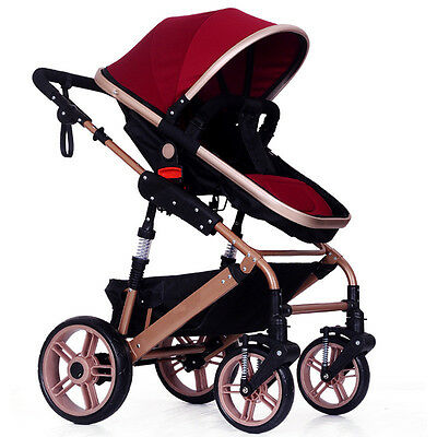 2017 Hot Newborn Carriage Infant Travel Car Foldable Baby Strollers Pushchair
