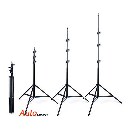 Photo Studio 2m 7ft Light Stand Adjustable Tripod for Softbox Flash Lighting Kit