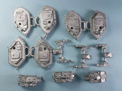 3 x Epic Space Marine Land Raider