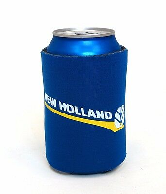 New Holland Blue Foam Can Cooler Stubby Holder Koozie New